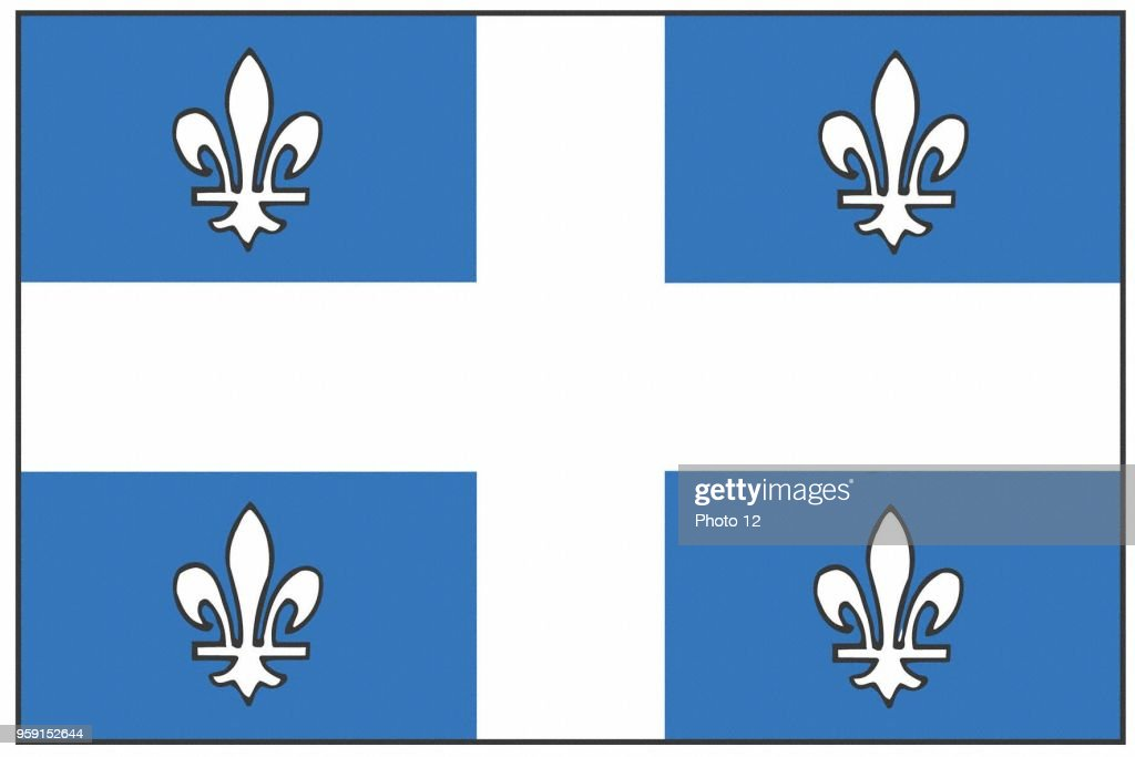 Flag Of The Province Of Quebec News Photo Getty Images