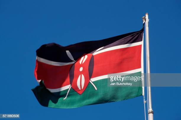 flag of the republic of kenya - kenyan flag stock pictures, royalty-free photos & images