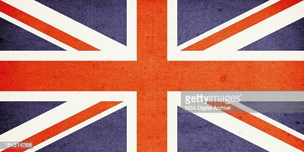 Flag of United Kingdom Close-Up (High Resolution Image)