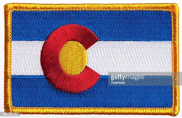flag patch. - embroidery stock pictures, royalty-free photos & images