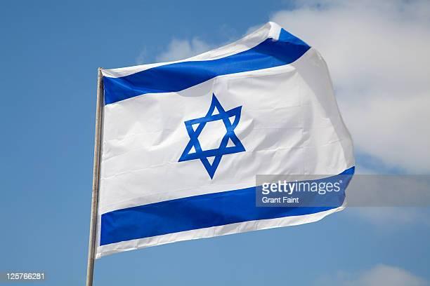 flag - bandeira de israel imagens e fotografias de stock