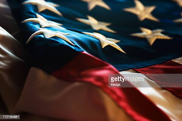 us flag - military flags stock photos and pictures