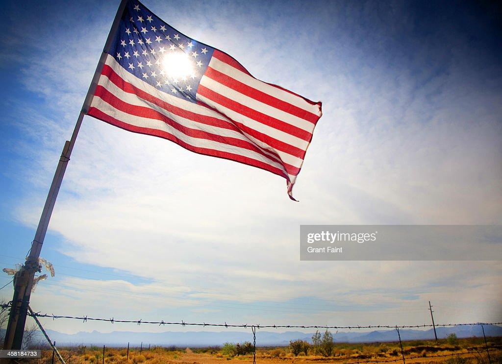 USA flag : Stock Photo