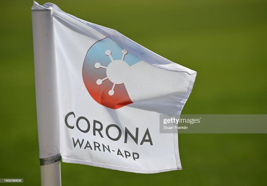 VFL Osnabrück Corona Warn App auswechseltafel Autocollant 54 x 9 cm long