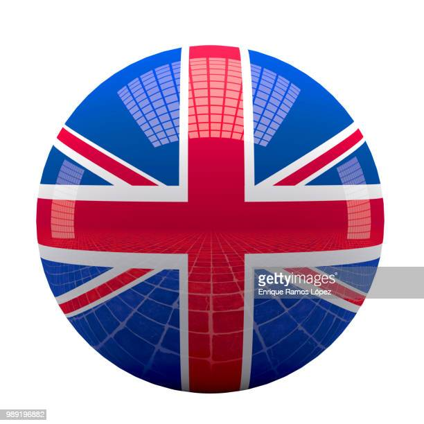 UK flag sphere