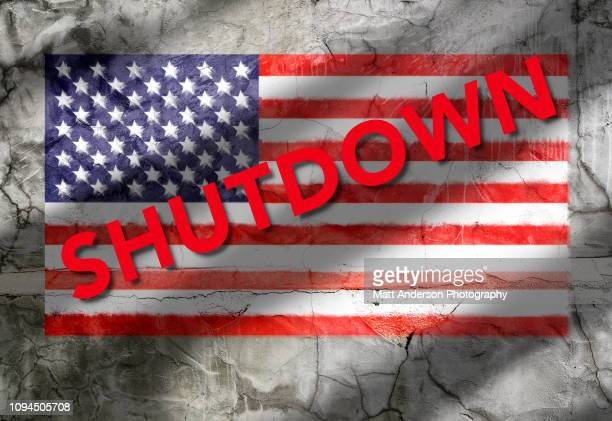 us flag texture shutdown - government shutdown stock pictures, royalty-free photos & images