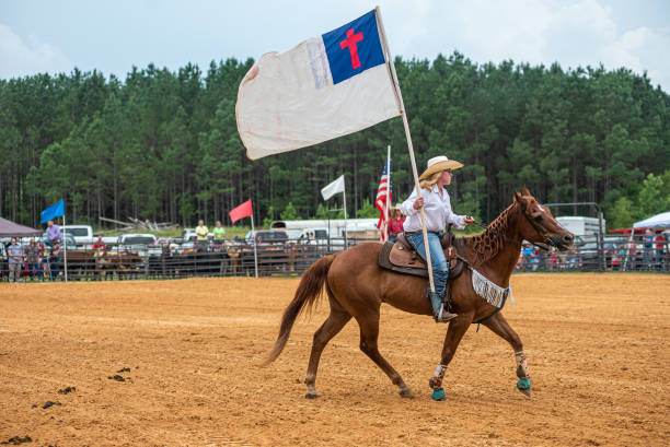 MS: Mississippi Cowboy Church Holds Rodeo On The 4th Of July
