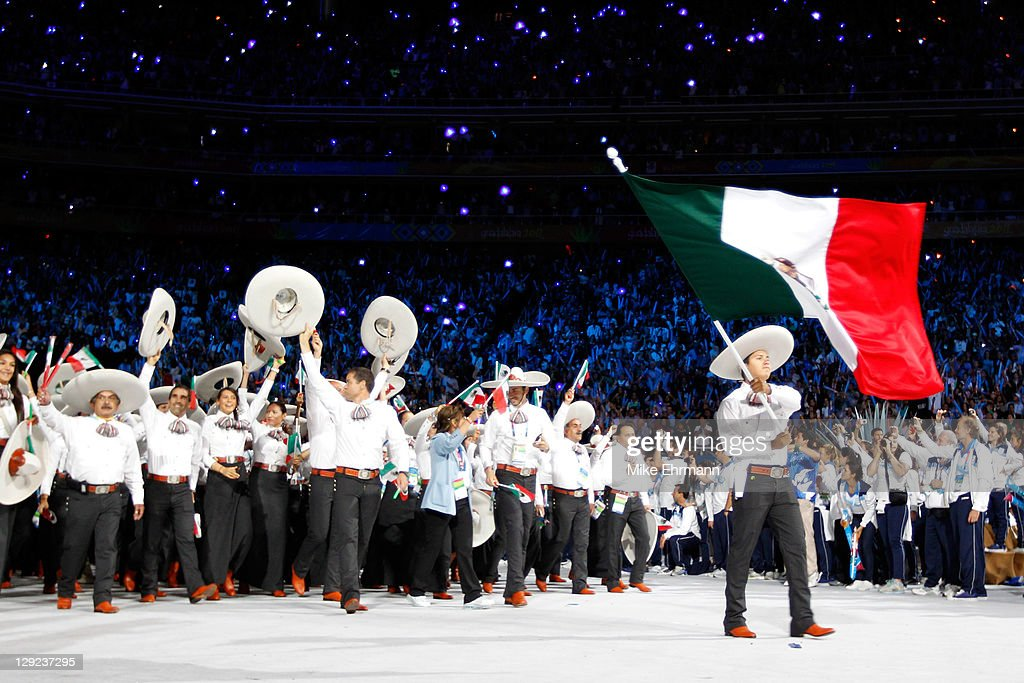 XVI Pan American Games - Opening Ceremony : News Photo