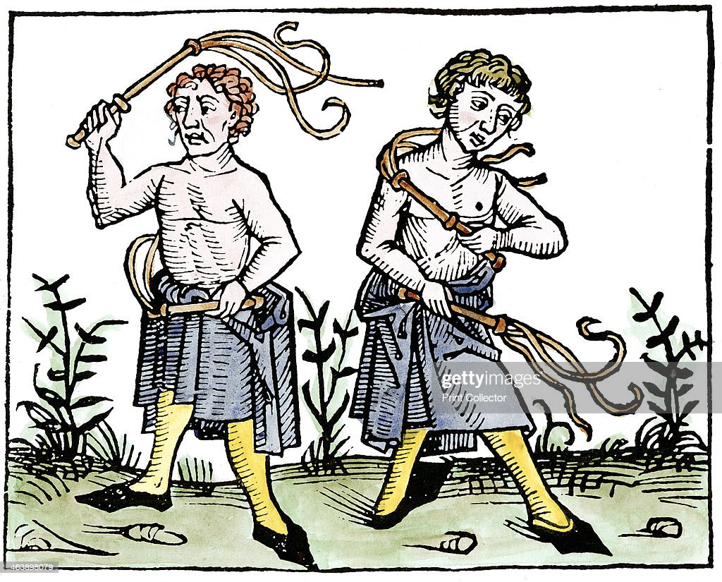 Flagellants, 1493. : News Photo