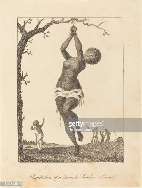 Flagellation of a Female Samboe Slave, 1793. Artist William Blake.
