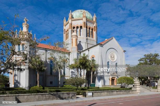 flagler memorial presbyterian church - presbyterianisme stockfoto's en -beelden