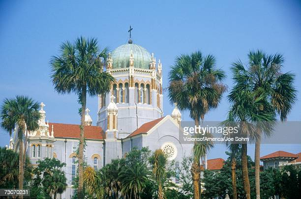 """flagler presbyterian memorial church in the oldest continually inhabited city in america in saint augustine, fl"" - presbyterianism stock photos and pictures"