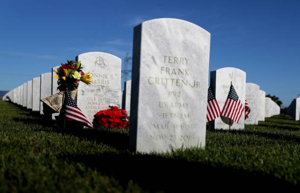 CA: California Veterans Cemetery Prepares For Memorial Day