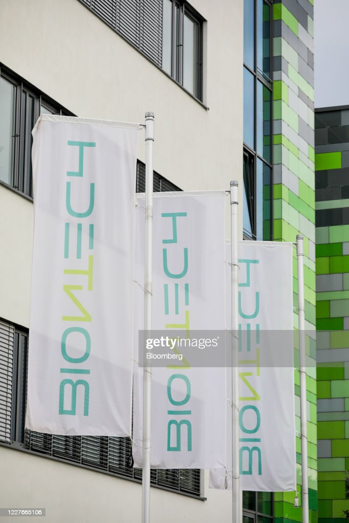 Flags Fly Outside The Headquarters Of Biontech Se In Mainz Germany News Photo Getty Images