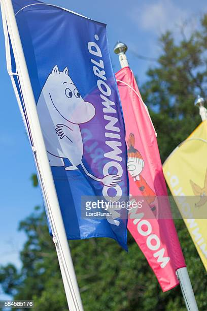 Flags of Moominworld