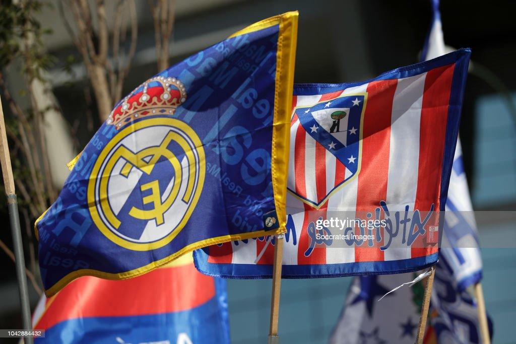 ESP: Real Madrid CF v  Club Atletico de Madrid - La Liga