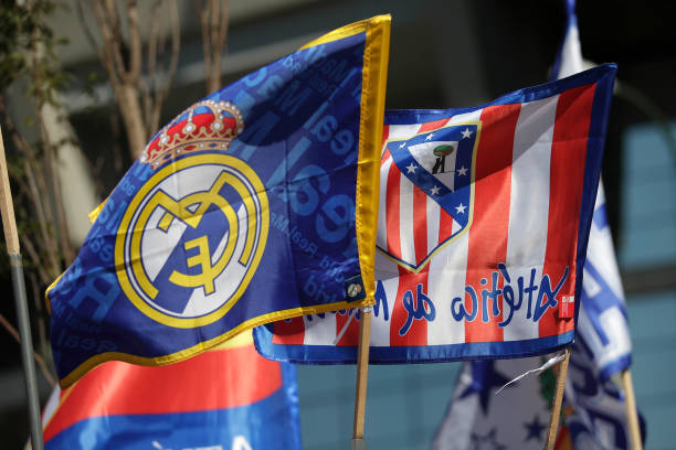 ESP: Real Madrid CF v  Club Atletico de Madrid - La Liga