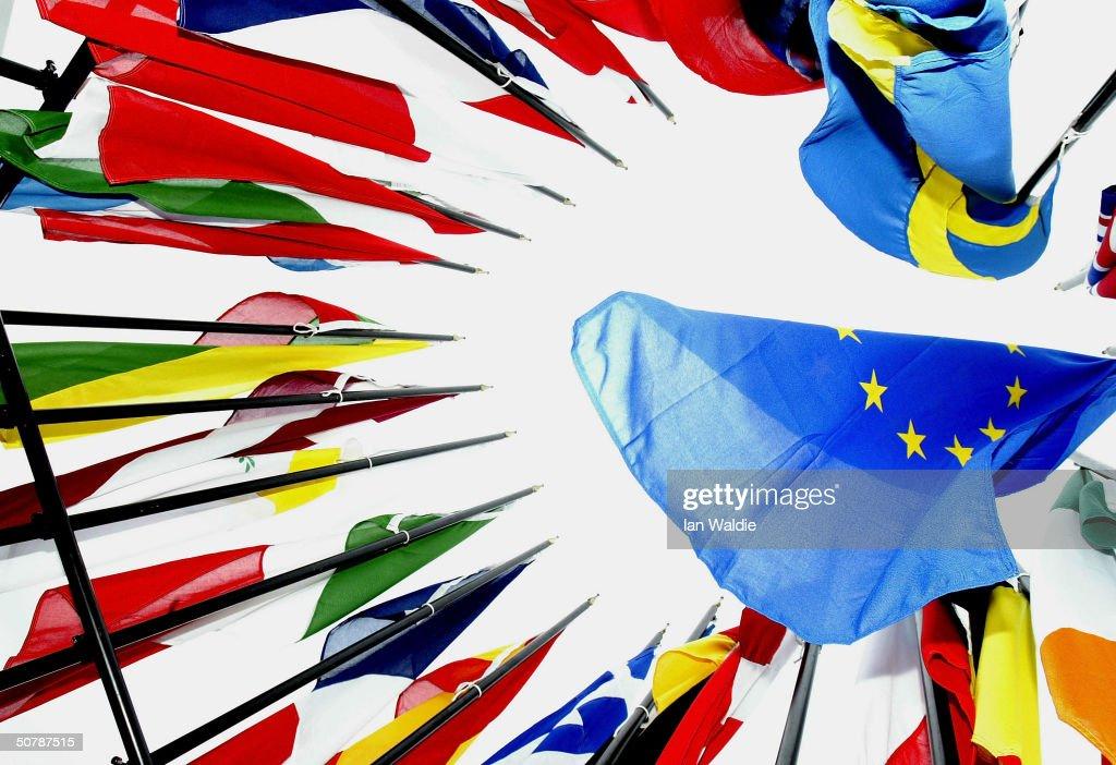 Security On High Alert Ahead Of EU Enlargement Ceremony : News Photo