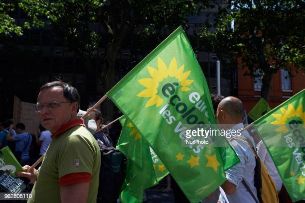 EELV A quotmaree populairequot demonstration was called by more than 60 political organisations associations and unions to protest against French...