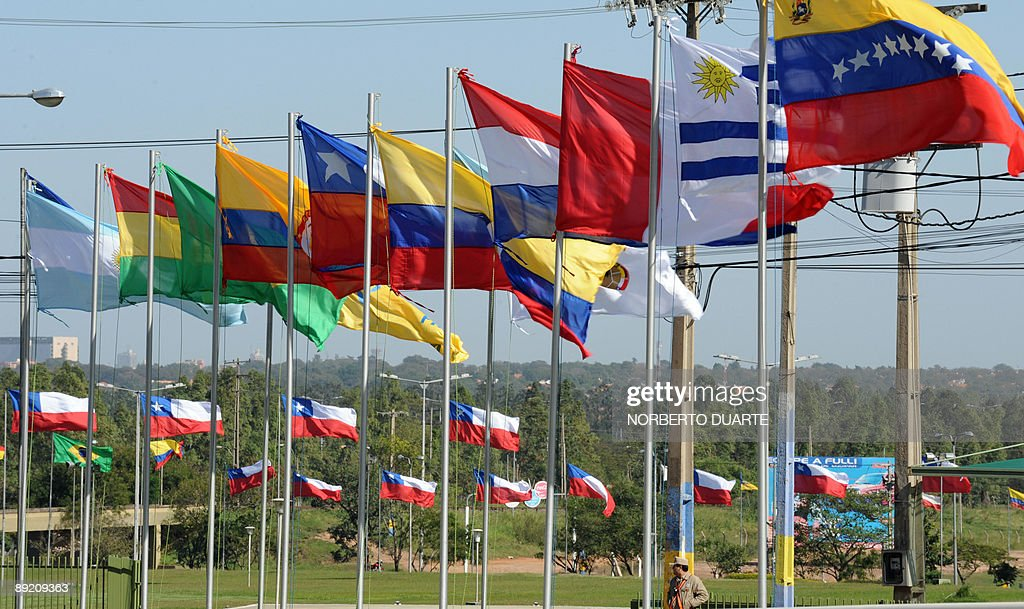 Flags of the participating countries dur : News Photo
