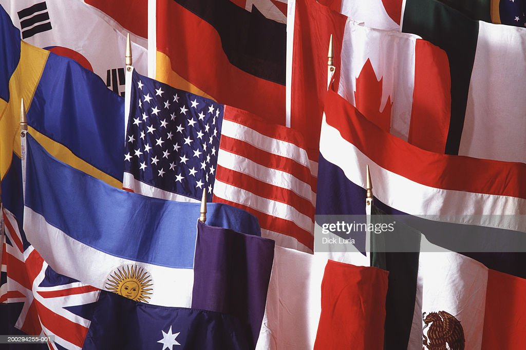 flags : Stock Photo