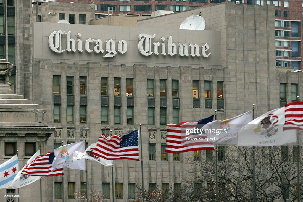 Tribune Co. Files For Bankruptcy Protection : News Photo