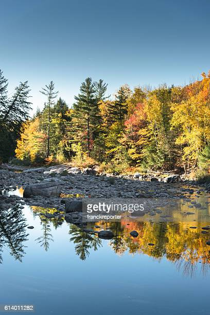 flagstaff landscape with a river in maine