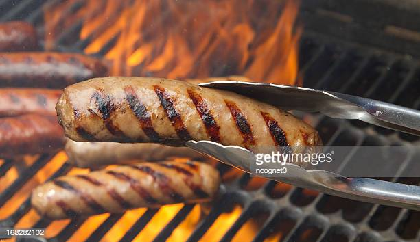 Flame grilled food