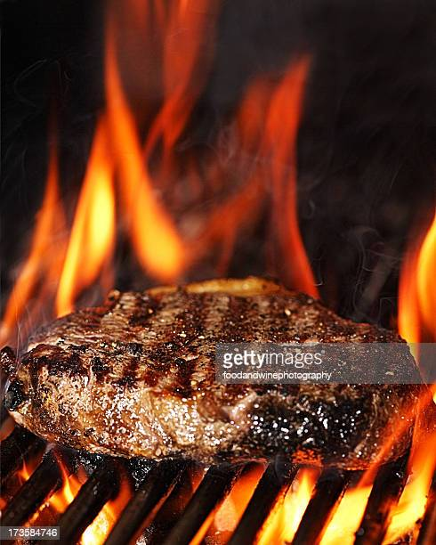 Flame grilled sirloin steak