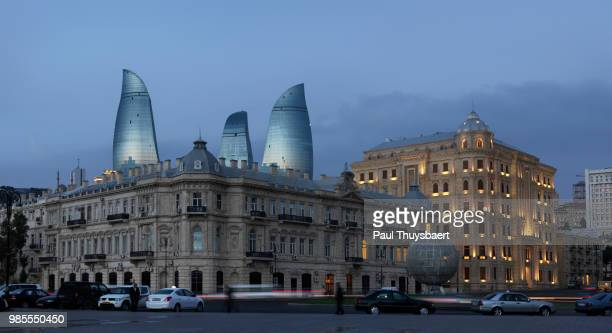 Flame Tower Baku