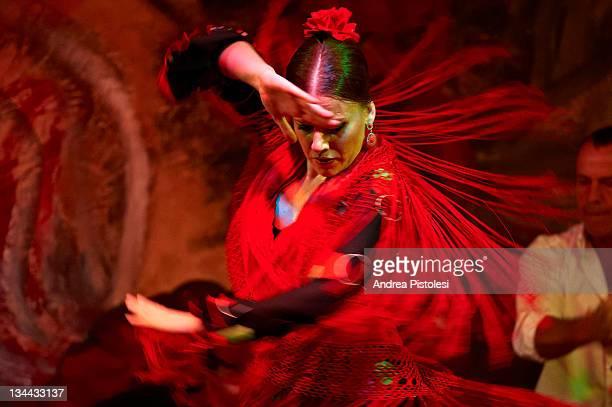 flamenco dance in seville - flamenco - fotografias e filmes do acervo