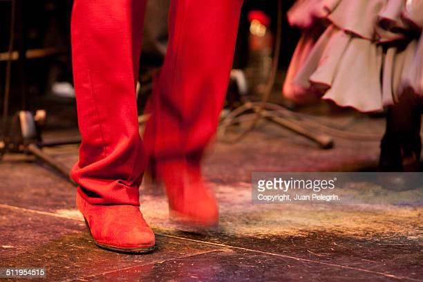 Flamenco dancer feet - Bailaor de flamenco, pies