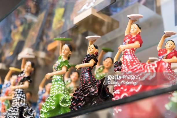 flamenco dancer figurines - flamenco stock photos and pictures