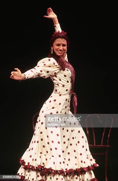 Flamenco Dancer La Chuti from the Paco Pena Flamenco Dance Company performs in Arte y Pasion