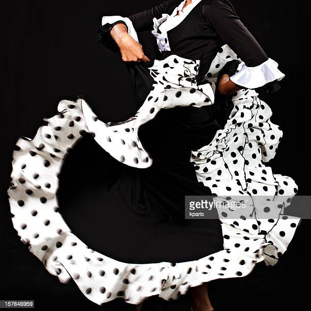 danseuse de flamenco - flamenco photos et images de collection