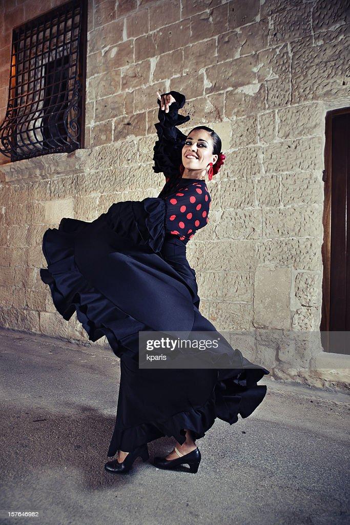 Bailarina de Flamenco : Foto de stock