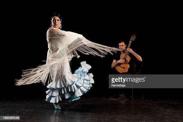 flamenco dancer - flamenco dancing stock photos and pictures