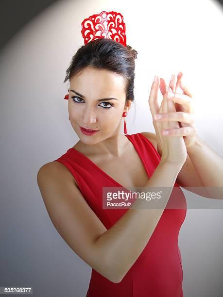 flamenco dancer - flamengo imagens e fotografias de stock
