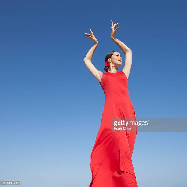 flamenco dancer. spain - hugh sitton stock pictures, royalty-free photos & images