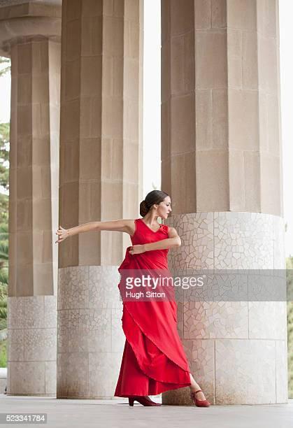 flamenco dancer. spain - hugh sitton bildbanksfoton och bilder