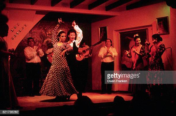 Flamenco Dancers at Seville Club