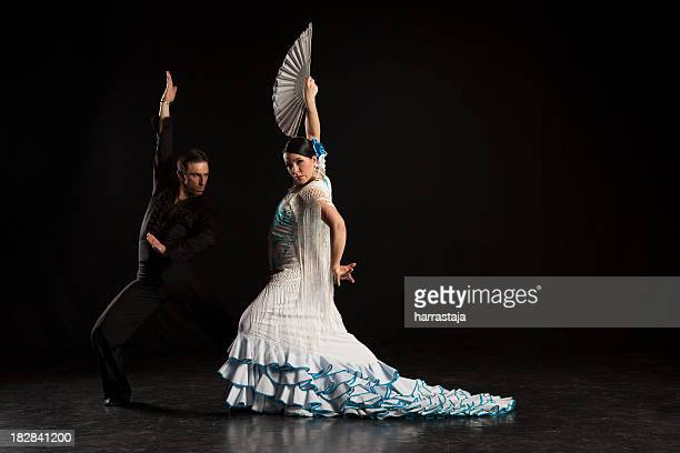flamenco dancers - flamenco dancing stock photos and pictures