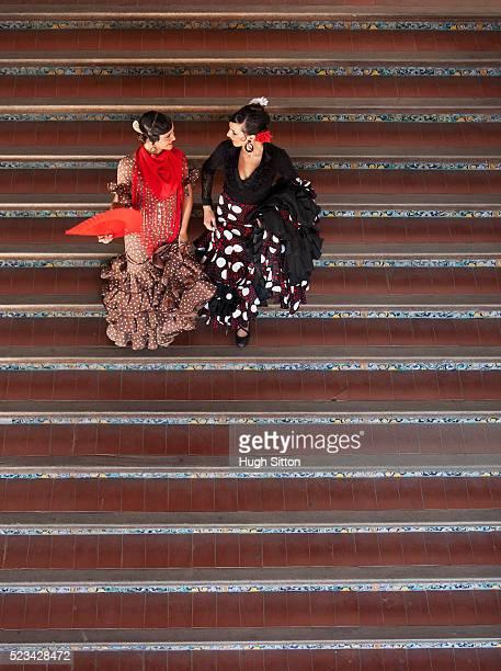flamenco dancers - hugh sitton photos et images de collection