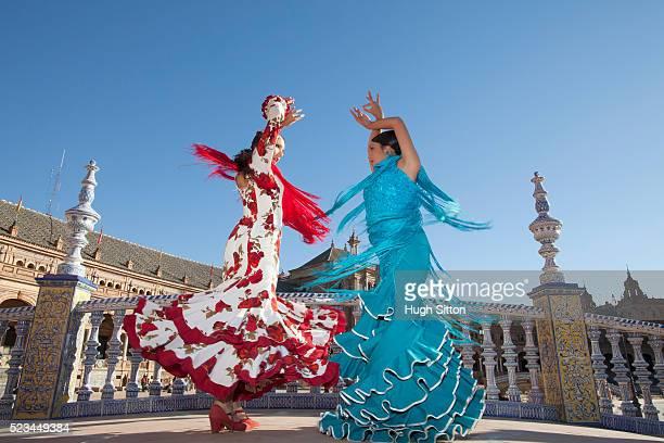 flamenco dancers - hugh sitton 個照片及圖片檔
