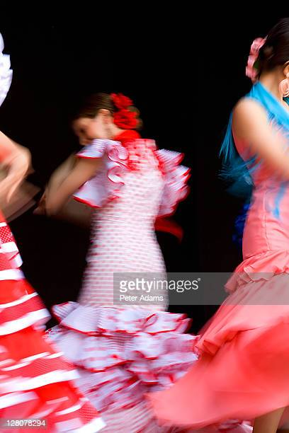 flamenco dancers, spain - peter adams stock pictures, royalty-free photos & images