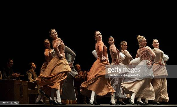 Flamenco Festival London 2012 Fuenteovejuna performed by the Antonio Gades Company at Sadlers Wells London UK