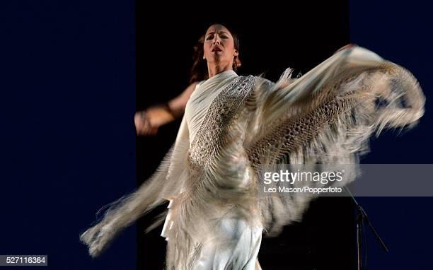 Flamenco Festival London Esperanza Fernandez De lo Jondo y Verdadaero at Sadlers Wells London UK Danced by Ana Morales