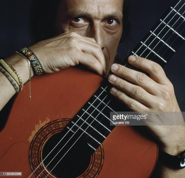 Flamenco guitarist Paco de Lucia 1991