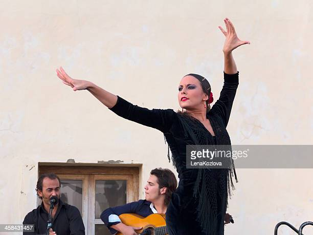 flamenco in cadiz, spain - flamenco dancing stock photos and pictures