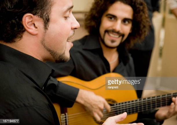 flamenco musicians - classical guitar stock photos and pictures